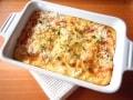 葱とカボチャの塩麹風味グラタン