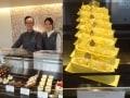 パリ5つ星ホテルの菓子「オー フィル ドゥ ジュール」