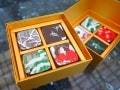 箱根のお土産に岡田美術館のチョコ『歌麿・深川の雪』