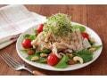 包丁いらずで簡単!豚しゃぶと野菜のサラダの作り方