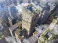 都市に木化ビルを増やす! 前代未聞の超高層350m木造ビルも