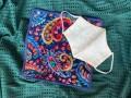 咳エチケットをおしゃれに!あざやかな色柄が美しいシュニール織のハンカチ