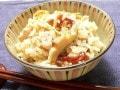 せんべいの炊き込みご飯レシピ…醤油おかきおこわ