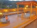 おにやまホテル!別府鉄輪温泉の展望露天