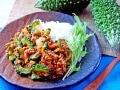 ゴーヤカレーをトマトなど夏野菜で作る簡単レシピ