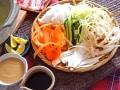リボン鍋しゃぶしゃぶレシピ!野菜のピーラーでの切り方・作り方