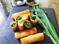 ほろ苦さを包む 山菜の春巻きの作り方
