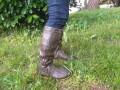 「丸める長靴」と形容するにはおしゃれすぎる一品