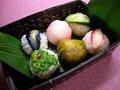 漬物でつくる華やか手毬寿司