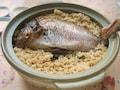 お祝いに! 土鍋で作る豪華な鯛めし
