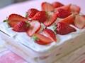 簡単!華やかストロベリーショートケーキ