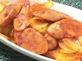 「タモさん」レシピ 魚肉ソーセージのカレー炒め