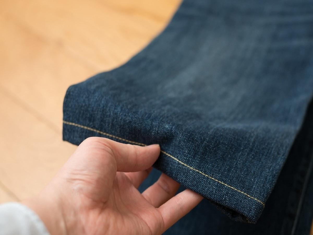 の 裾 上げ 手縫い ズボン