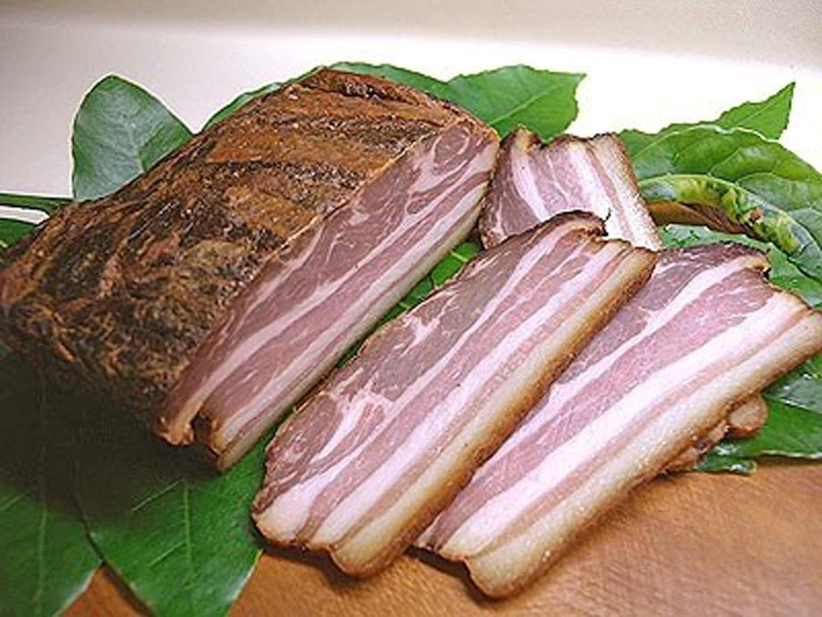 燻製 豚 バラ