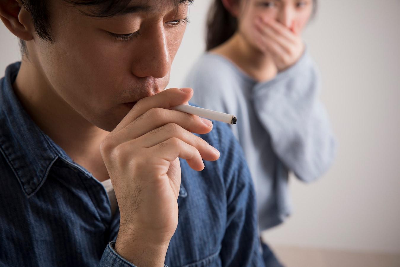 が 匂い タバコ する の
