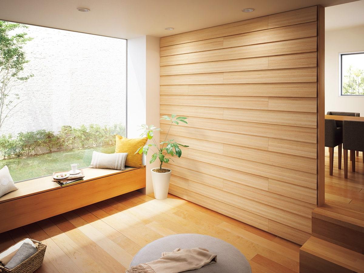 壁に木を貼るリフォーム その素晴らしい魅力と注意点 内壁材 天井材