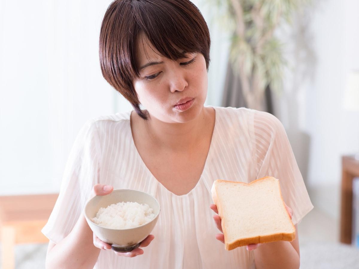 ない 朝食 太ら