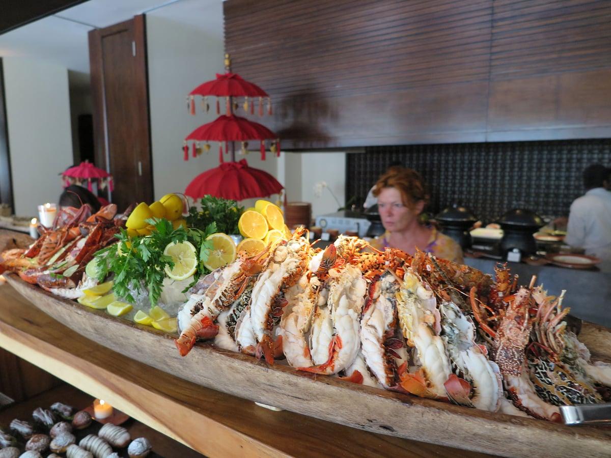 お得!ロブスターが食べ放題のサンデーブランチ/バリ [バリ島 ...