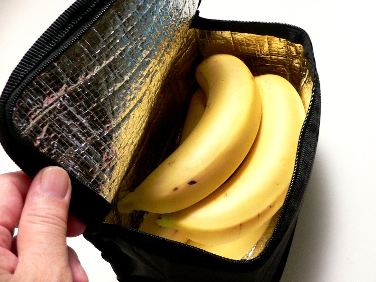 バナナ 冷蔵庫