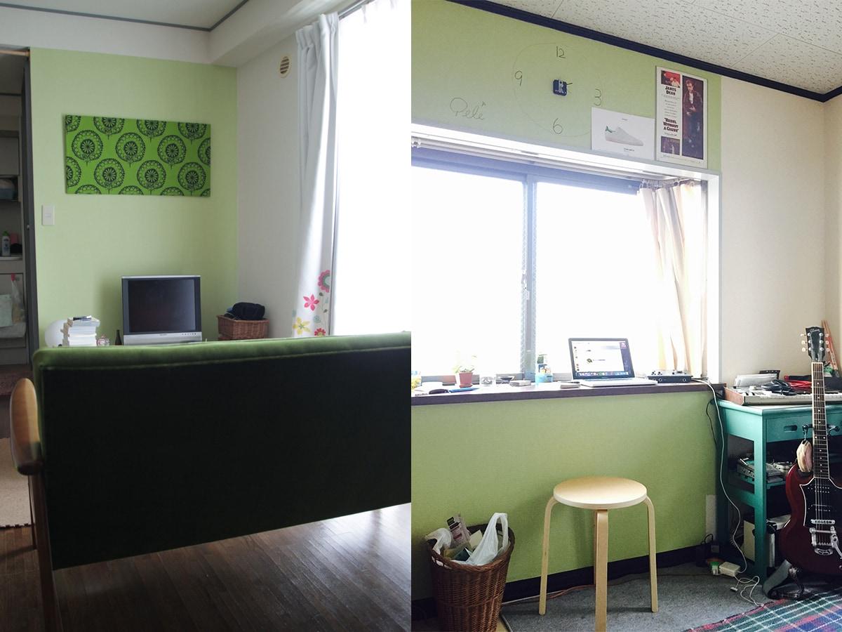 予算1万円セルフリノベ 賃貸の壁紙貼り替え 実践編 内壁材 天井材