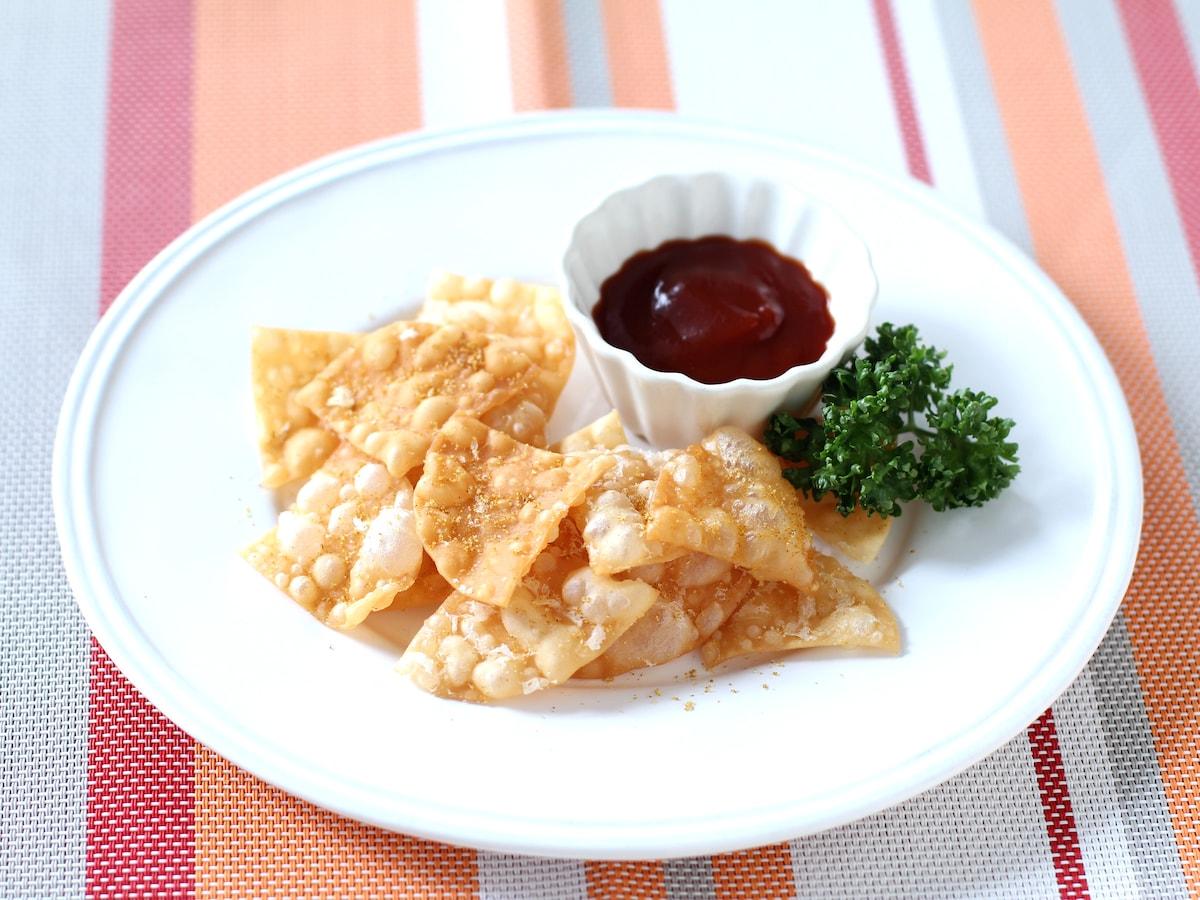 余っ た 餃子 の 皮 レシピ