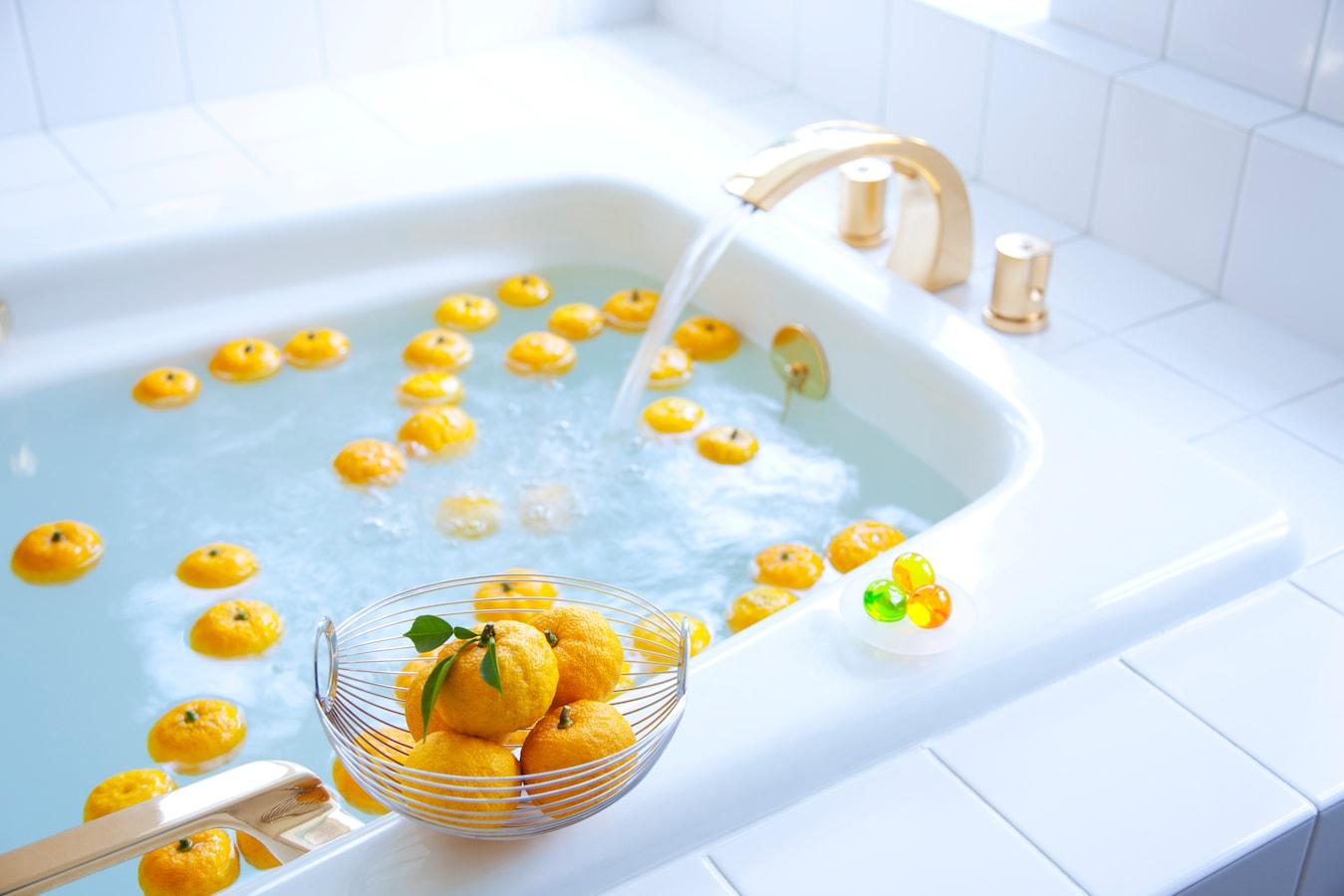 ゆず 風呂 効果