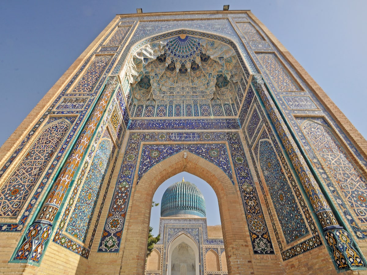 青の都サマルカンド/ウズベキスタン