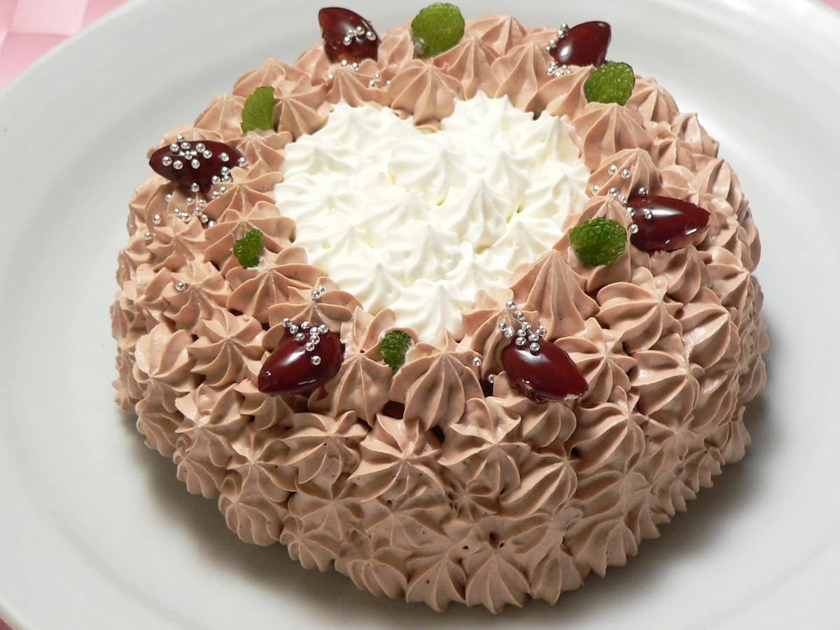 ケーキ デコレーション チョコレート