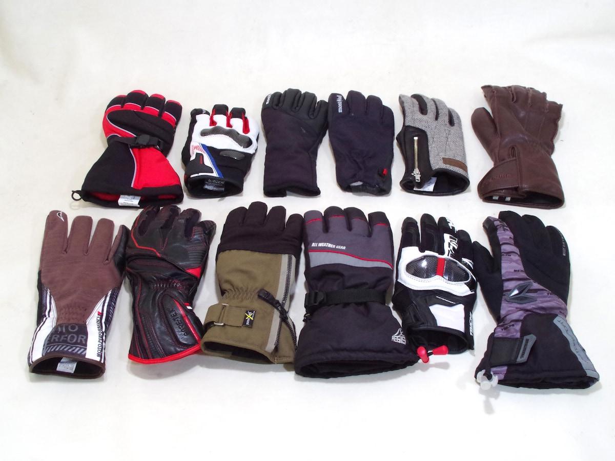 冬のバイク用防寒グローブ、メーカー広報おすすめ12選