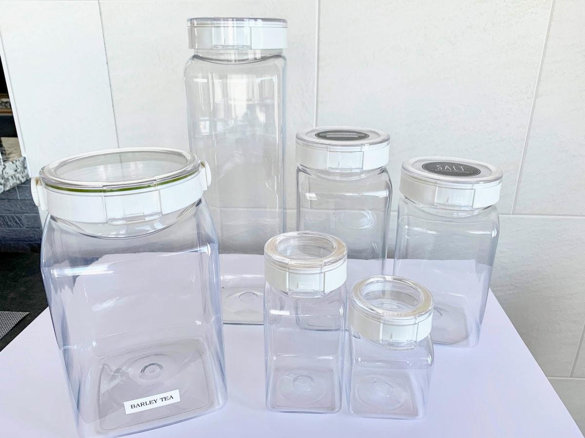 保存 容器 小麦粉