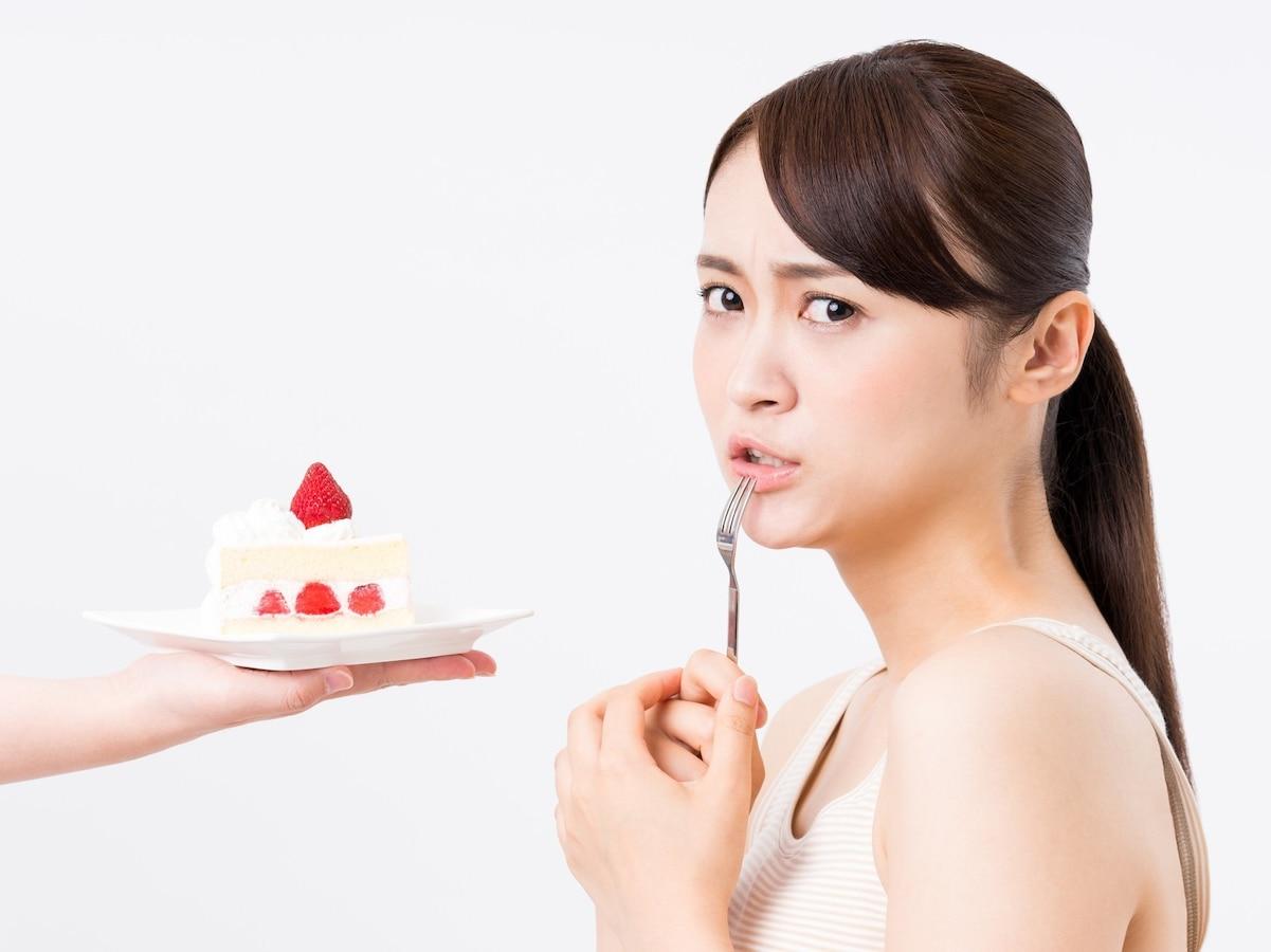 が 甘い 食べ とき もの たい