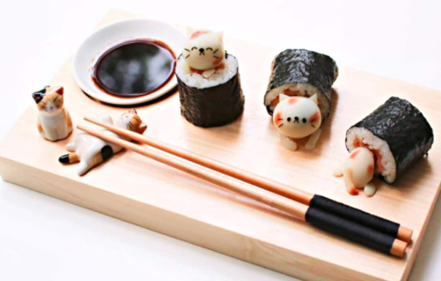 Cute Amp Crafty Character Amp Animal Sushi All About Japan