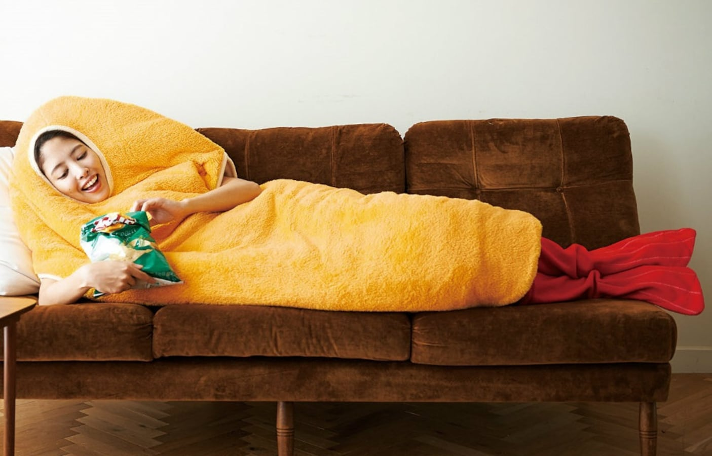 ... Be A Couch Potato In Tempura Sleeping Bag Couch Potato Austin Potatoes  Furniture ...