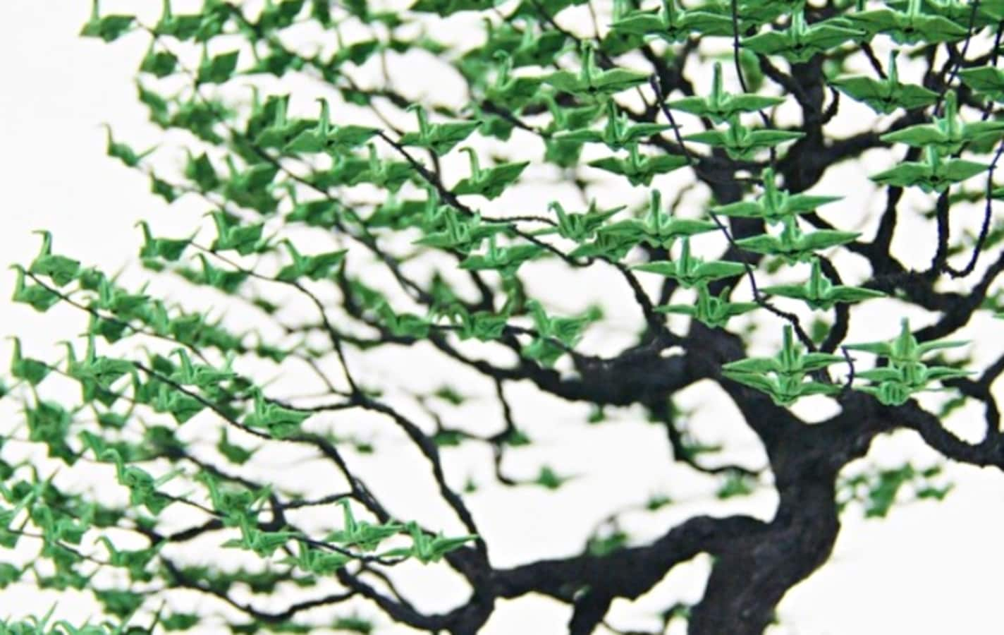 Bonsai Origami Combine In New Japanese Art