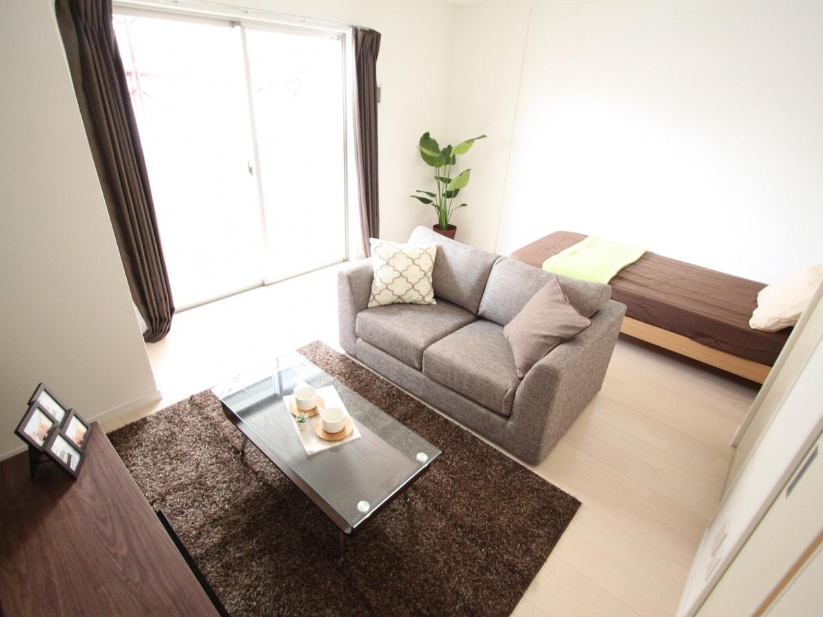 一人暮らし部屋!1kやワンルームの家具配置・レイアウトのコツ|all