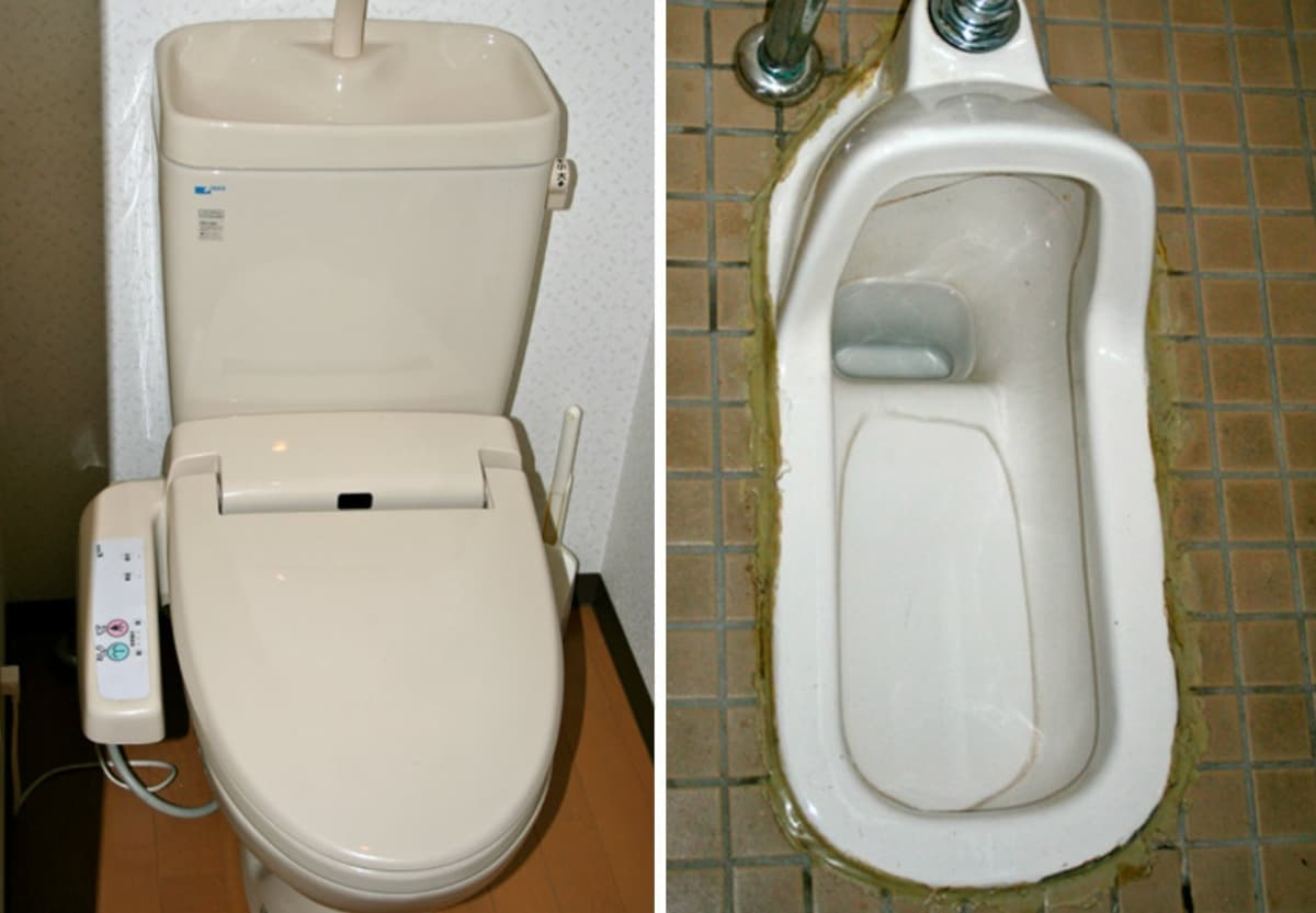Western-Style vs. Japanese-Style Toilets | All About Japan