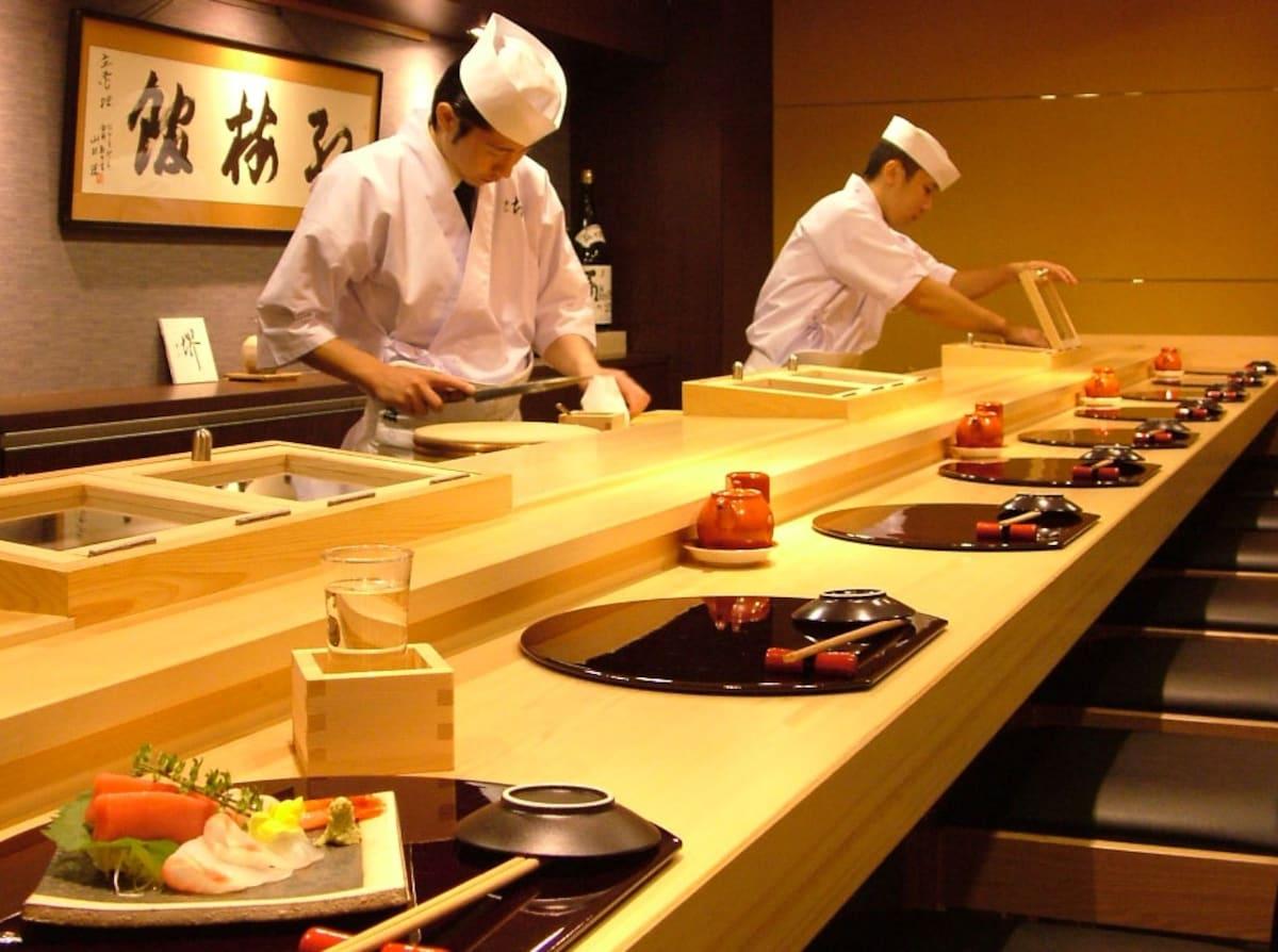 第一次到日本壽司店
