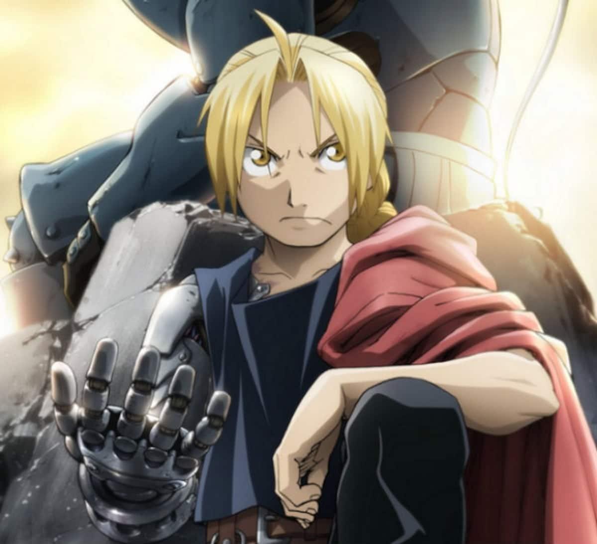 10. Edward Elric (Fullmetal Alchemist)