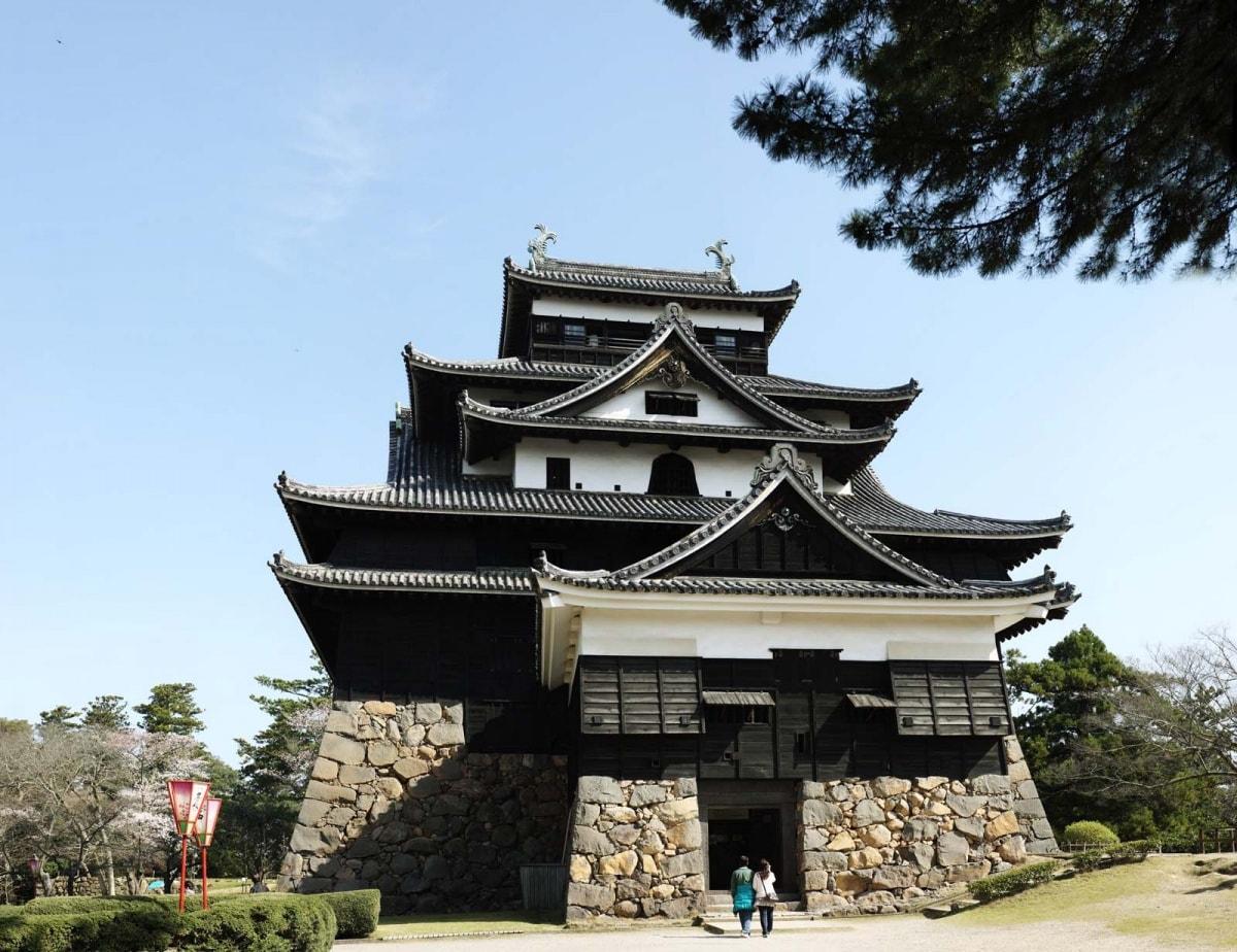 7. ปราสาท Matsue เมือง Matsue (Shimane)