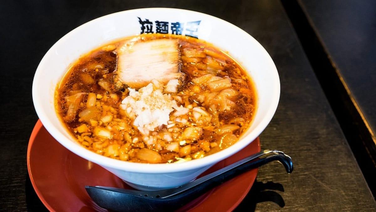 3. 拉麺帝王(君津市)