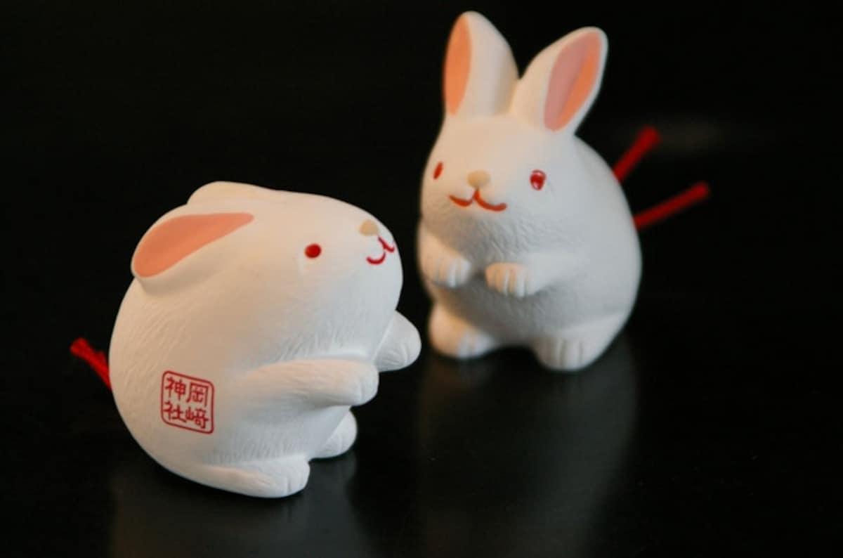 6. เซียมซีกระต่าย (ศาลเจ้า Sumiyoshi Taisha, Osaka)