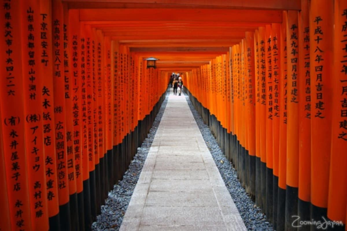 1. Fushimi Inari Taisha