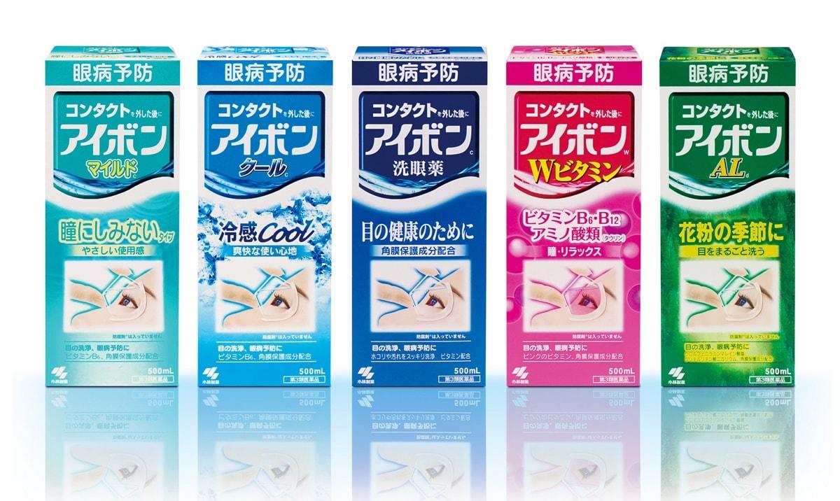1.小林制药洗眼液