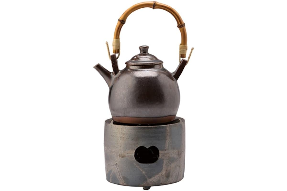 4. Hirosaki Ceramic Teakettle Set (Aomori)