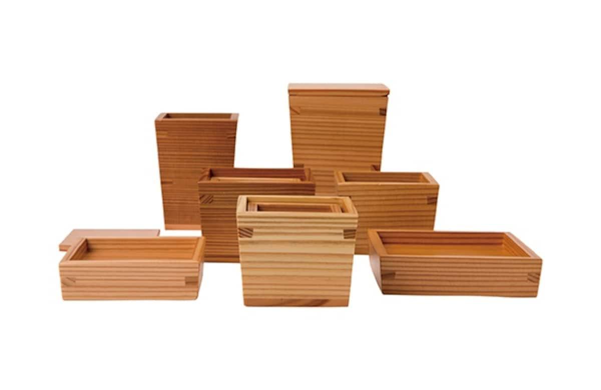 5. Nikko Cedar Sake Set (Tochigi)