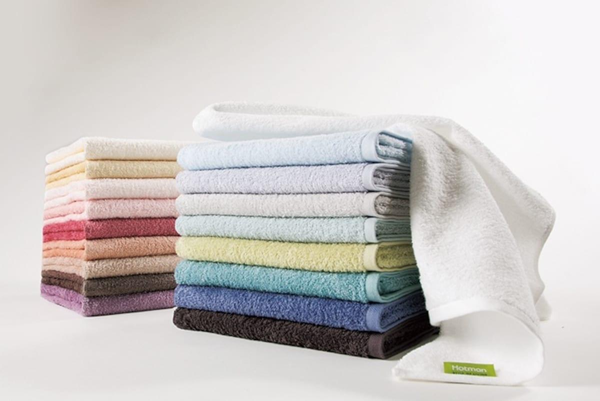 6. Color Towels (Tokyo)