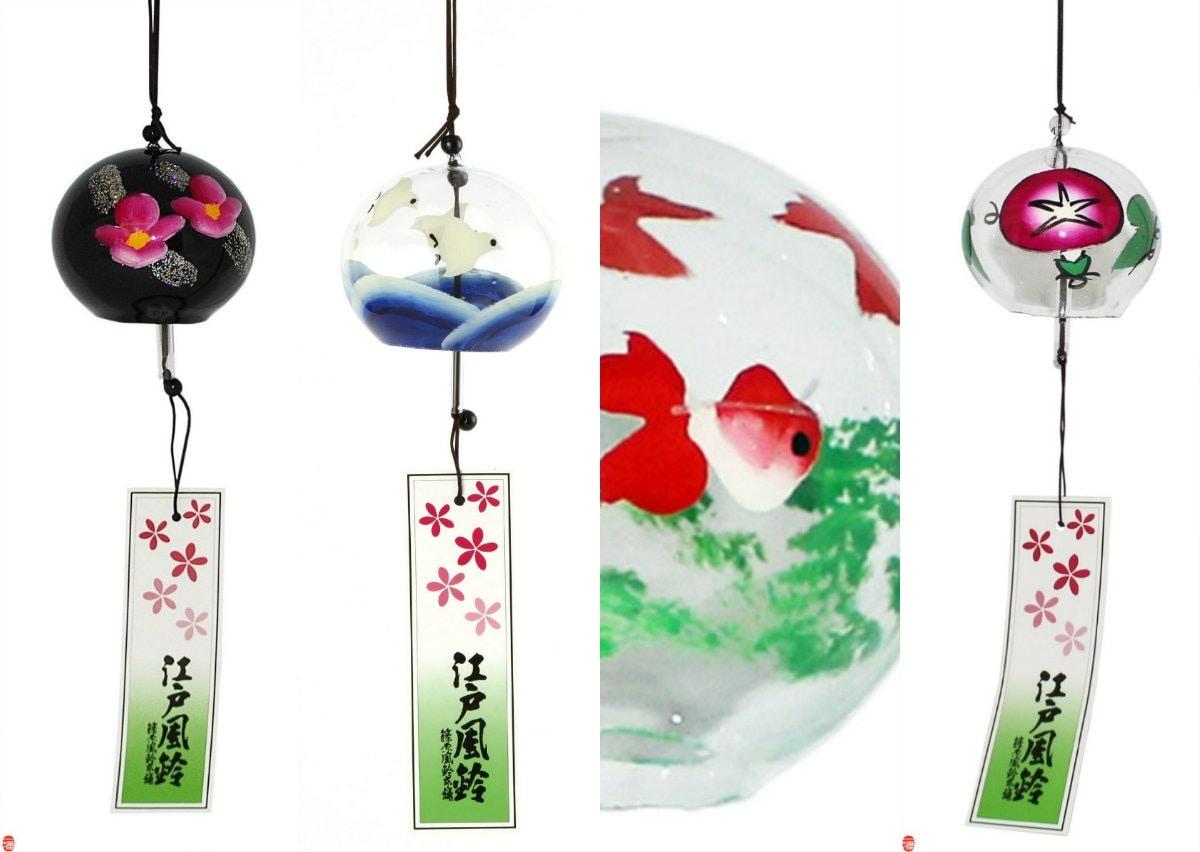 5. Edo Furin Wind Chimes