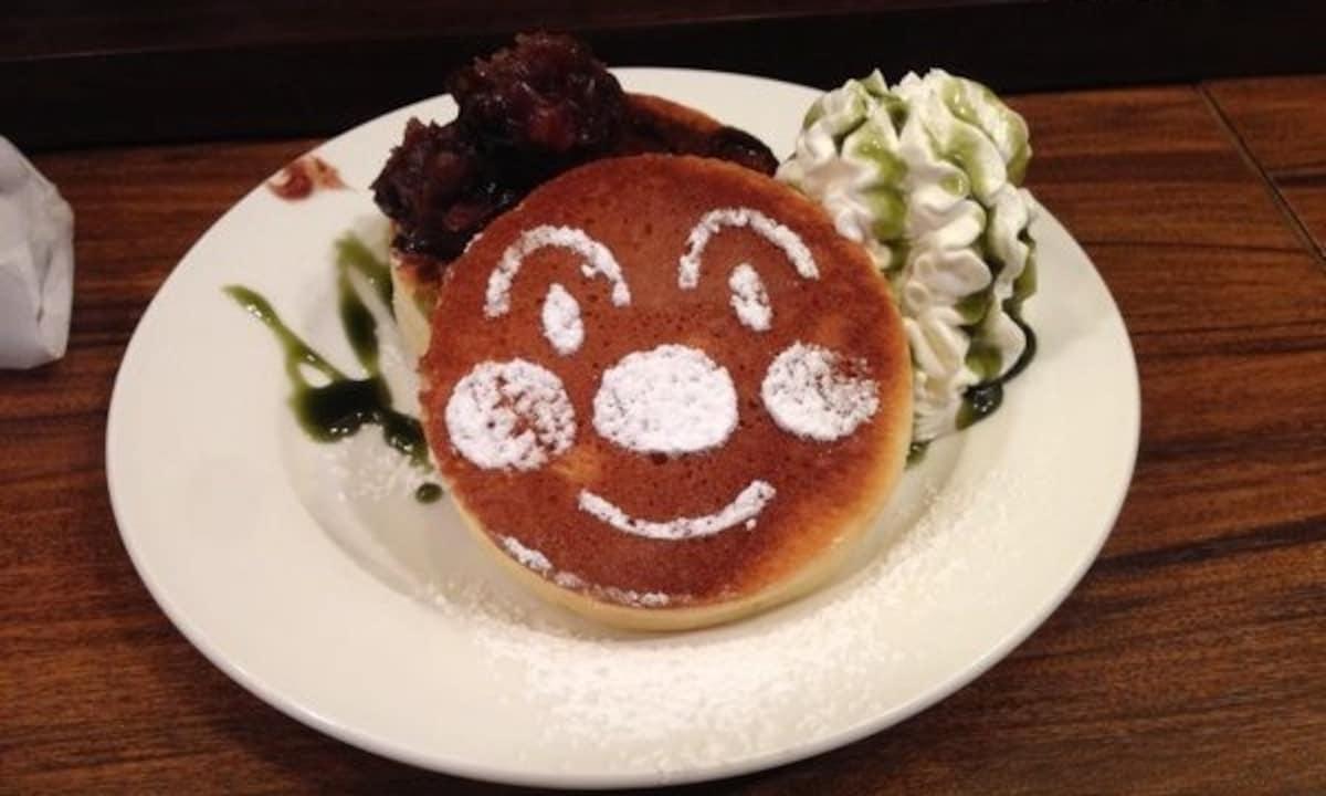 3. Anpanman Pancakes