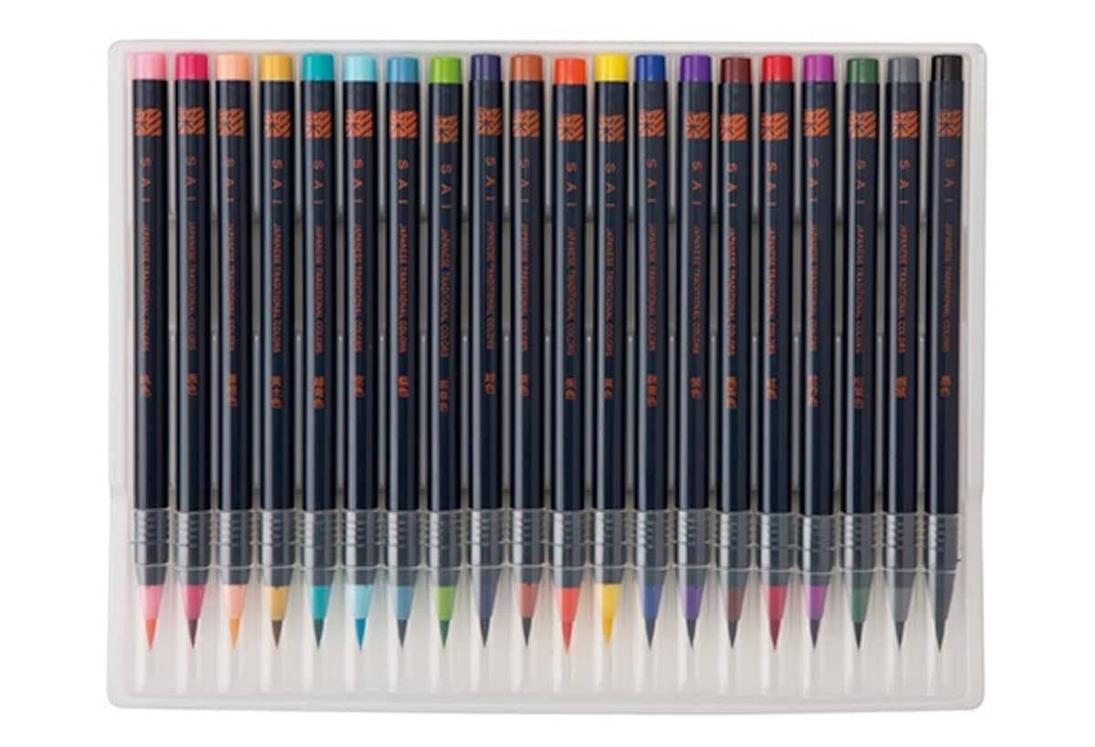 8. SAI Coloring Brush Pens