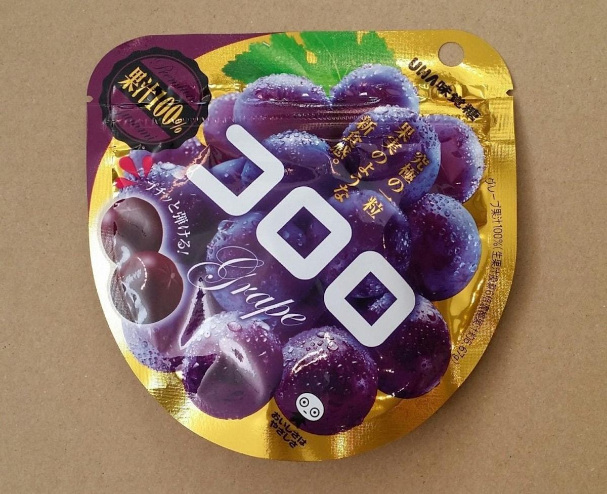 1. UHA味覺糖コロロ